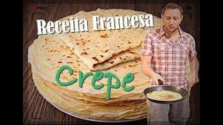 Receita Francesa - Crepe Francês (Receita Bem Fácil)