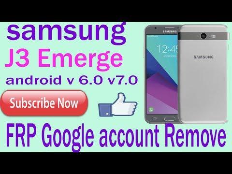 J3 Luna/J3 Emerge FRP/Google account bypass | J327P,S327VL