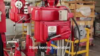 H2 Honing Machine How to Use