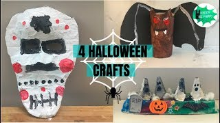 4 simple Halloween crafts for kids