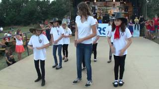 preview picture of video 'Linedance der Kinder Volkstanzgruppe Purbach'