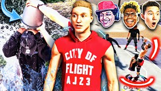 1 MISS = 1 *ICE BUCKET* w/ Agent 00 ImDavisss & More!! Using the WORST Jumpshot in 2K History...