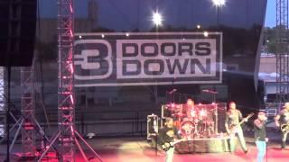 3 Doors Down - Not Enough (live at Kansas State Fair 2014)