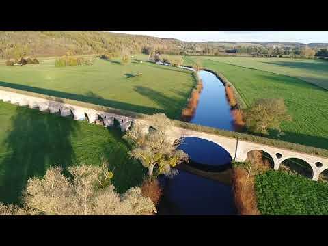 Dron'Eure: Vues aériennes de l'Aqueduc de l'Avre