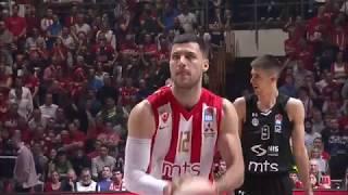 Dramatic last minute of the overtime (Crvena zvezda mts - Partizan NIS, 23.3.2019)