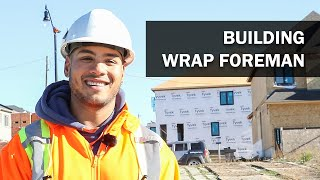 Job Talks – Building Wrap Foreman