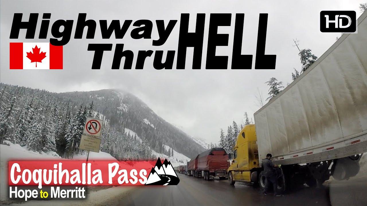 HIGHWAY THRU HELL – Car Drive from Hope to Merritt