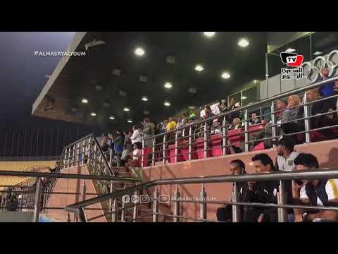 جماهير الزمالك تشعل الملعب بالهتاف لـ«أوباما» عقب هدف الفريق الثاني في مرمى الإنتاج
