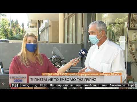 Κ.Λουράντος (Πρόεδρος Φαρμ. Συλλ. Αθ.)   Τί γίνεται με το εμβόλιο της γρίπης   12/09/2020   ΕΡΤ