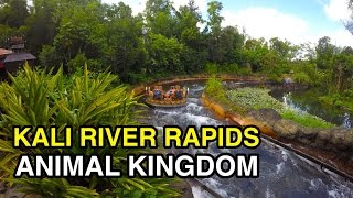 [4K] Kali River Rapids - Rad Raft Ride : Animal Kingdom (Orlando, FL)