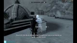 Skyrim - Finding The Wayshrines And FROST GIANT Killings