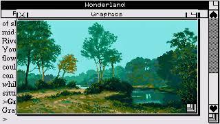 ATARI ST Wonderland 1990Magnetic ScrollsDisk 1 of 4cr Hotline