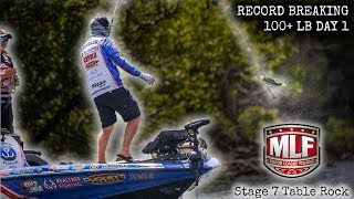 Will this record ever be broken?! INSANE fishing day.. MLF Stage 7 Missouri