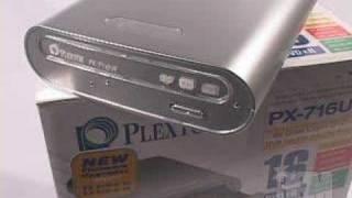 #558 - Plextor PX-716UF DVD DVD±R/RW External Drive