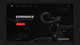 Adobe XD & Adobe Dimension Dark Theme Web Design - Tutorial