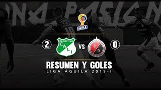 Cali Vs Cúcuta: Resumen Y Goles Del Partido 2-0 Liga Águila 2019 I Deportes RCN