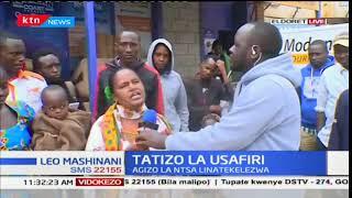 Wasafiri watatizika baada ya marufuku ya safari za usiku