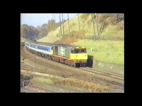 Railfreight 58002 & BR Blue 47626 working a passenger servic…
