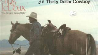 Chris Ledoux ~ They Couldn't Understand My Cowboy Songs (Vinyl)