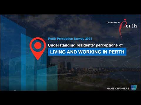 Lunch & Learn - 2021 Perth Perception Survey