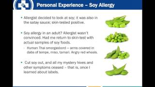 Adult Onset Food Allergy FARE Webinar