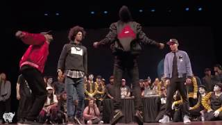 LES TWINS, KING CHARLES and PRINCE JRON, Exhibition