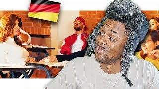 AMERICAN REACTS TO KC Rebell   Quarterback (prod. By Juh Dee) | German Rap