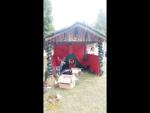Prefeitura de Juquitiba faz um Barraco para o Papai Noel em Homenagem as Favelas de Juquitiba é o Barraco Noel 2018