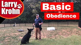 GermanShepherd Dog Basic Obedience / Positive Reinforcement  / Marker Training