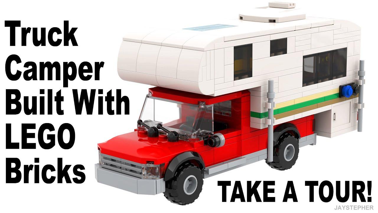 LEGO Truck Camper Custom Built MOC Tour