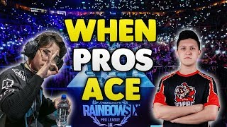 When Pro Players Ace In Pro League - Rainbow Six Siege