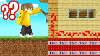 *EVIL* TNT TROLL On My FRIENDS HOUSE! (Minecraft)