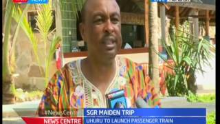 Government Spokesperson-Eric Kiraithe what SGR means to Kenyans