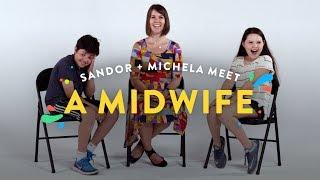 Kids Meet A Midwife (Sandor & Michela) | Kids Meet | HiHo Kids