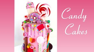 Candy Cakes Ideas For Kids