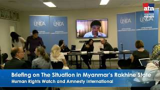 Briefing on the Situation in Myanmar Rakhine State