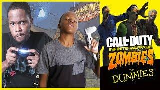 DUMMIES GUIDE TO NOT SURVIVNG INFINITE WARFARE ZOMBIES! - COD Infinite Warfare