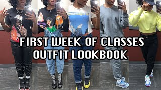 First Week Of Classes Outfit Lookbook: College Girl Edition
