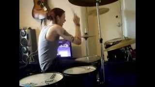 Feeder - We Can't Rewind Drum Cover