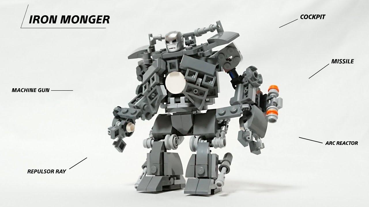 Lego Iron Monger from Iron Man moc