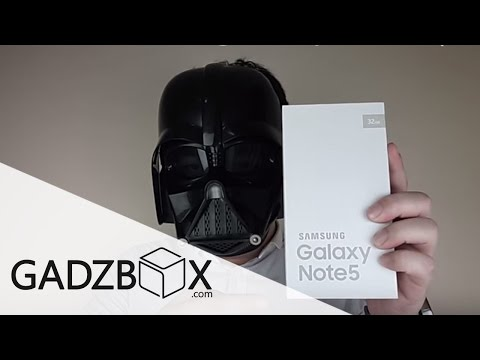Unbox : Samsung Galaxy Note 5 (32GB) by: GADZBOX