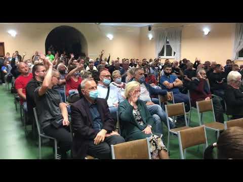 Wideo1: Zebranie wiejskie w Wilkowicach