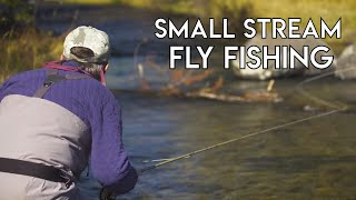 Fly Fishing Small Streams | How To
