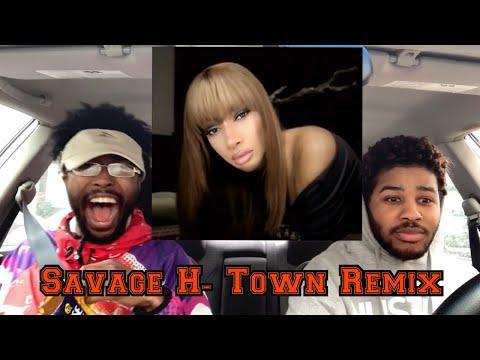 Megan Thee Stallion - Savage Remix Ft  BEYONCE ???  Reaction !!🥺🥺