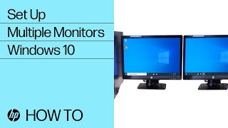 Set Up Multiple Monitors in Windows 10 | HP Computers | HP