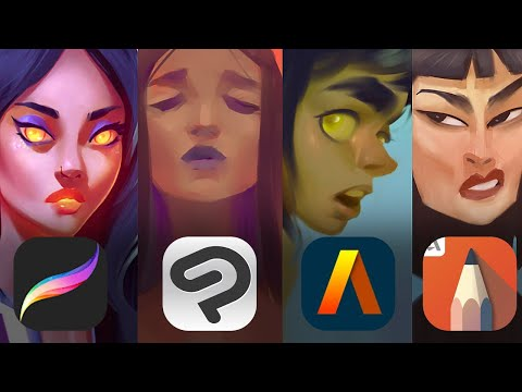 BEST PAINTING APPS FOR THE IPAD
