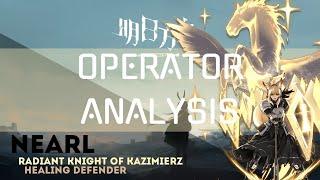 Nearl  - (Arknights) - [Arknights] Operator Analysis: Nearl a healing defender