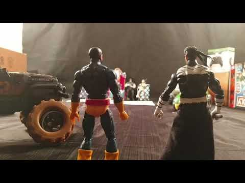 Marvel Legends stop motion the new X-Men and the inhuman the seha Saga