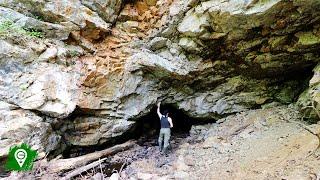 Exploring Frank's Culvert Cave