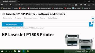 Windows 10 How to install and find printer drivers if you have no CD or CD Drive